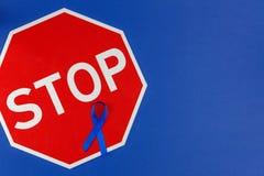 Concepto Oncological de la enfermedad de intestino imagen de archivo libre de regalías