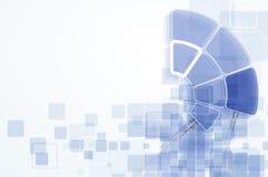 Concepto para el negocio corporativo y el desarrollo de la nueva tecnología Fotografía de archivo