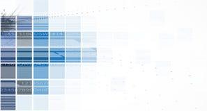 Concepto para el negocio corporativo y el desarrollo de la nueva tecnología Imagen de archivo