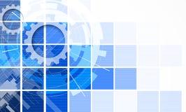 Concepto para el negocio corporativo y el desarrollo de la nueva tecnología Imagenes de archivo