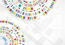 Concepto para el negocio corporativo y el desarrollo de la nueva tecnología Fotografía de archivo libre de regalías