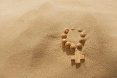 Concepto perdidoso del extracto de la fe Imagen de archivo libre de regalías
