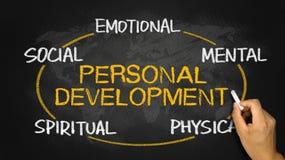 Concepto personal del desarrollo Fotografía de archivo
