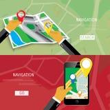 Concepto plano del vector de World Travel y de turismo Imagen de archivo libre de regalías