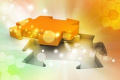 Concepto que busca una solución Imagen de archivo libre de regalías