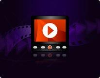 Concepto que fluye video Imagen de archivo libre de regalías
