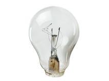 Concepto quebrado de la lámpara Fotos de archivo