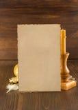 Concepto retro en la madera Fotografía de archivo libre de regalías