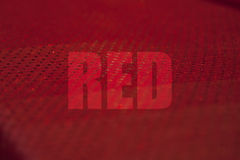 Concepto rojo Imágenes de archivo libres de regalías