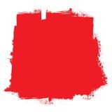 Concepto rojo de la sangre del rodillo Fotos de archivo libres de regalías