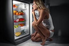 Concepto sano de la consumición Imagen de archivo