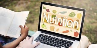 Concepto sano de la vida de la dieta de la nutrición fotos de archivo libres de regalías