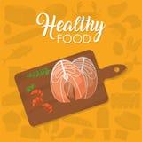 Concepto sano del alimento Imagenes de archivo