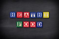 Concepto sano del alimento Fotografía de archivo libre de regalías