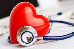 Concepto sano del corazón Imagen de archivo