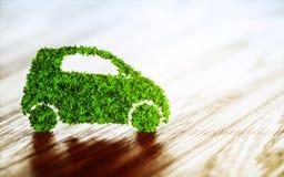Concepto sostenible del transporte Fotos de archivo libres de regalías