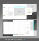 Concepto triple profesional del catálogo stock de ilustración