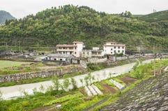 Concepto urbano lateral del viaje de China del país Fotografía de archivo