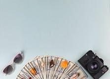 Concepto: venta de viajes, viaje alrededor Fotografía de archivo