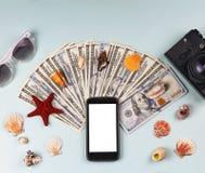 Concepto: venta de viajes, viaje alrededor Fotos de archivo libres de regalías
