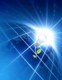 Concepto verde de la energía
