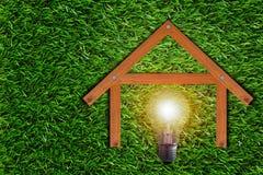 Concepto verde de la energía Foto de archivo libre de regalías