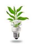 Concepto verde de la energía del eco Fotos de archivo