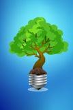 Concepto verde del eco Imágenes de archivo libres de regalías