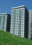 Concepto verde del edificio Foto de archivo libre de regalías