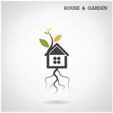 Concepto verde del hogar de la energía Imagen de archivo