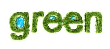 Concepto verde global de la protección del medio ambiente Imágenes de archivo libres de regalías