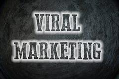 Concepto viral del márketing imagen de archivo