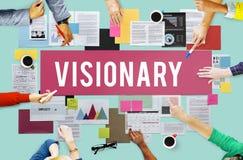 Concepto visionario de la imaginación de la creatividad de las aspiraciones imagen de archivo libre de regalías