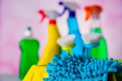 Concepto vivo de la limpieza Foto de archivo libre de regalías