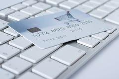 Concepto y e-actividades bancarias del pago electrónico Fotos de archivo libres de regalías