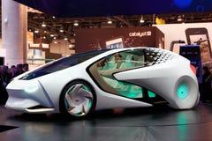 Concepto-Yo del coche del concepto de Toyota Foto de archivo libre de regalías