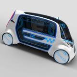 Conceptontwerp van het stads universele elektrische voertuig 3D Illustratie Stock Afbeeldingen