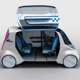 Conceptontwerp van het stads universele elektrische voertuig 3D Illustratie Stock Foto's