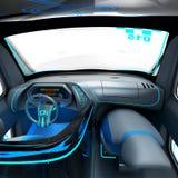 Conceptontwerp van het stads universele elektrische voertuig 3D Illustratie Royalty-vrije Stock Fotografie