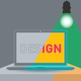 Conceptos de diseño Imagen de archivo