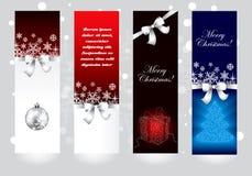 Conceptos de la bandera de la Navidad Imagen de archivo