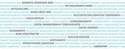 Conceptos de la proyección de imagen médica Fotografía de archivo