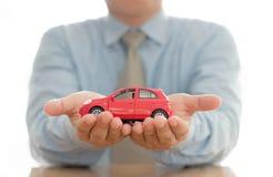 Conceptos de la renuncia del daño del seguro y de la colisión de coche foto de archivo