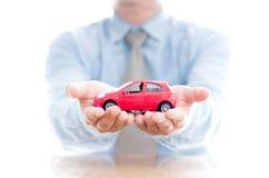 Conceptos de la renuncia del daño del seguro y de la colisión de coche fotografía de archivo libre de regalías