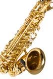 Conceptos de los instrumentos musicales Primer de Alto Saxophone foto de archivo libre de regalías