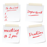 Conceptos del asunto para la oficina ocupada Foto de archivo libre de regalías