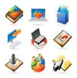 Conceptos del icono para el asunto Imagen de archivo libre de regalías