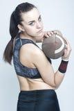 Conceptos e ideas del deporte Atleta de sexo femenino profesional Foto de archivo