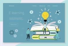 Conceptos para los cursos de idiomas ilustración del vector