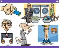 Conceptos y refranes de la historieta fijados libre illustration